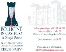 2016 bollicine in Castello